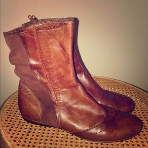 Patagonia Bandha brown leather boots shoes 8
